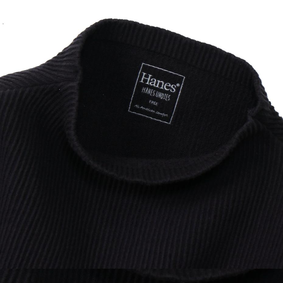 ウィメンズ リブハイネック 20FW Hanes UNDIES ヘインズ(HW4-S502)