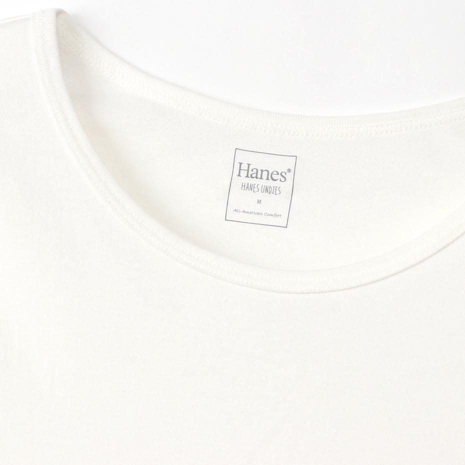 ウィメンズ Warm-T クルーネック 20FW Hanes UNDIES Plus+ ヘインズ(HW4-S504)