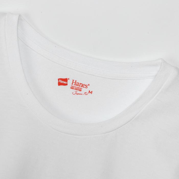 ウィメンズ ジャパンフィット【2枚組】クルーネックTシャツ 18FW Japan Fit for HER ヘインズ(HW5110)