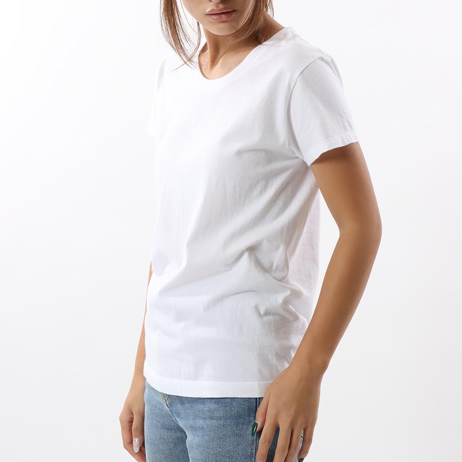 ウィメンズ ジャパンフィット【2枚組】クルーネックTシャツTシャツ 5.3oz 19FW Japan Fit for HER ヘインズ(HW5320)