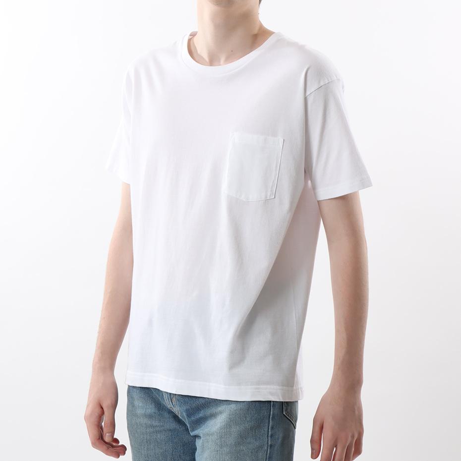 ジャパンフィット【2枚組】クルーネックポケットTシャツ 5.3oz 20FW Japan Fit ヘインズ(H5330)