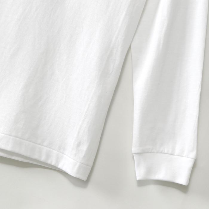 ヘインズ プレミアム クルーネックポケットロングスリーブTシャツ 18FW PREMIUM ヘインズ(HM4-L002)