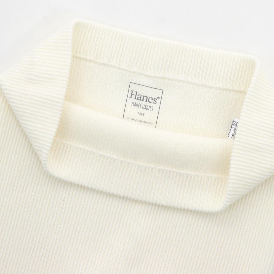 ウィメンズ リブ レギンス 19FW Hanes Undies ヘインズ(HW9-Q521)