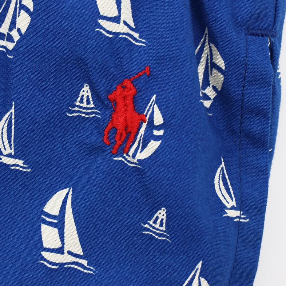Boat Print ショートパンツ 20SS ポロ ラルフ ローレン(RM8-R505)