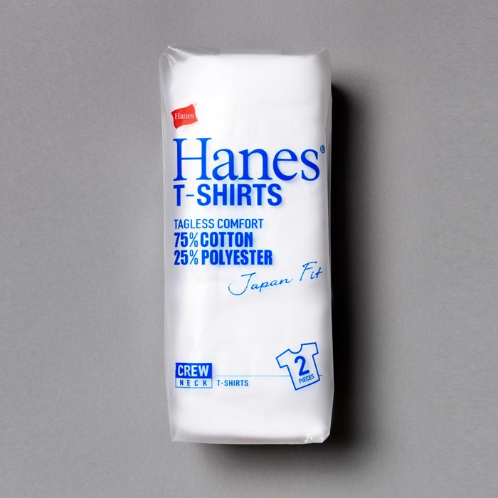 ジャパンフィット ブルーパック【2枚組】クルーネックTシャツ 18SS Japan Fit ヘインズ(H5210)