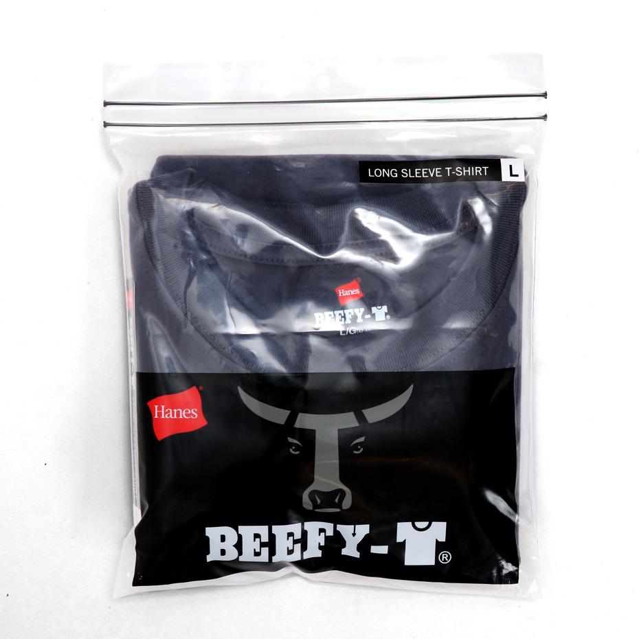 ビーフィーロングスリーブTシャツ 20SS BEEFY-T ヘインズ(H5186)