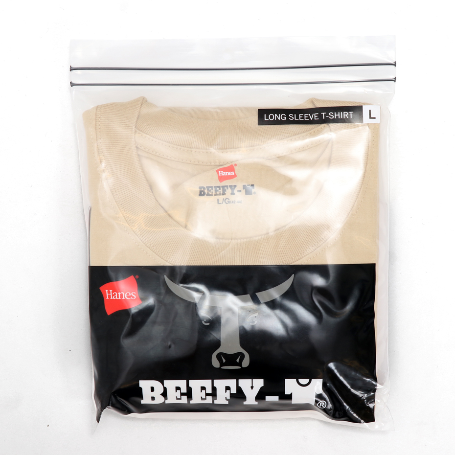 ビーフィーロングスリーブTシャツ 19FW BEEFY-T ヘインズ(H5186)