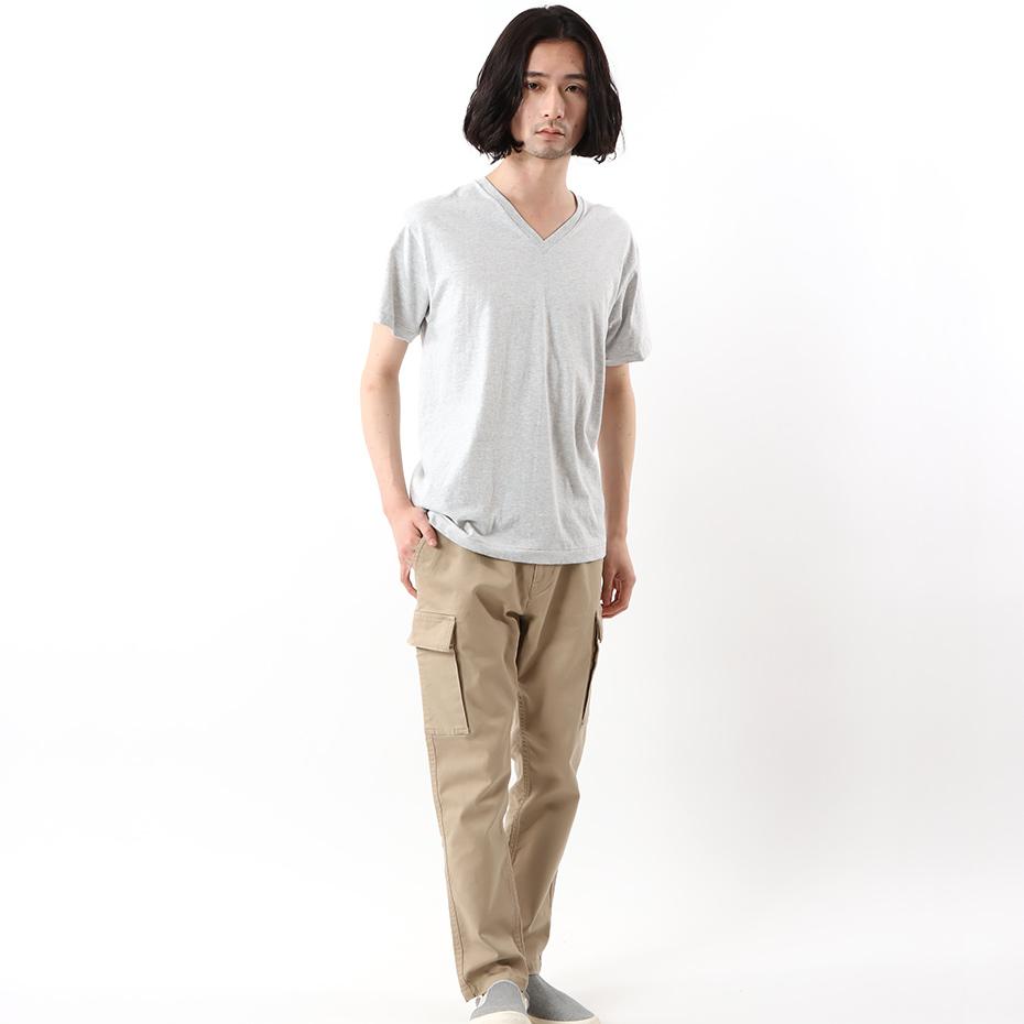 ヘインズ プレミアムジャパンフィット VネックTシャツ 19FW PREMIUM Japan Fit(HM1-F002)