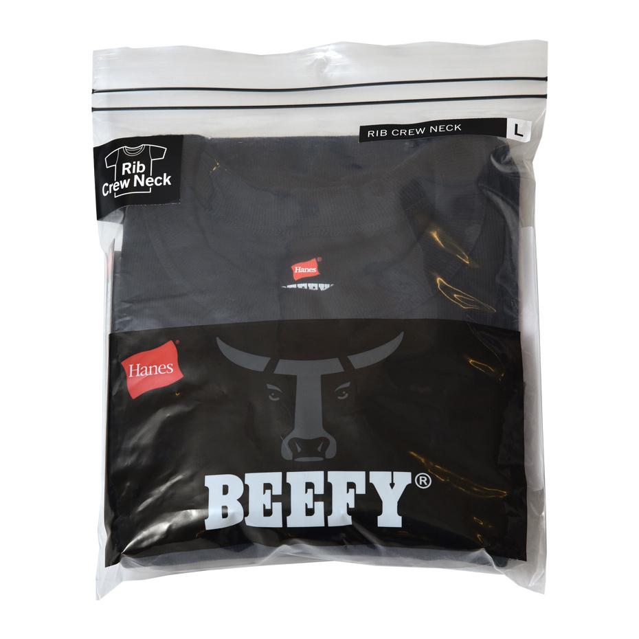 ビーフィーリブTシャツ 20SS BEEFY-T ヘインズ(HM1-R103)
