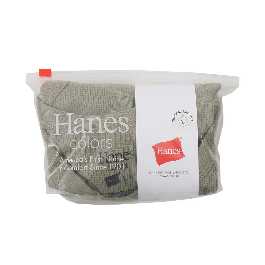 ワッフルタンクトップ 20SS Hanes colors ヘインズ(HM3-R101)