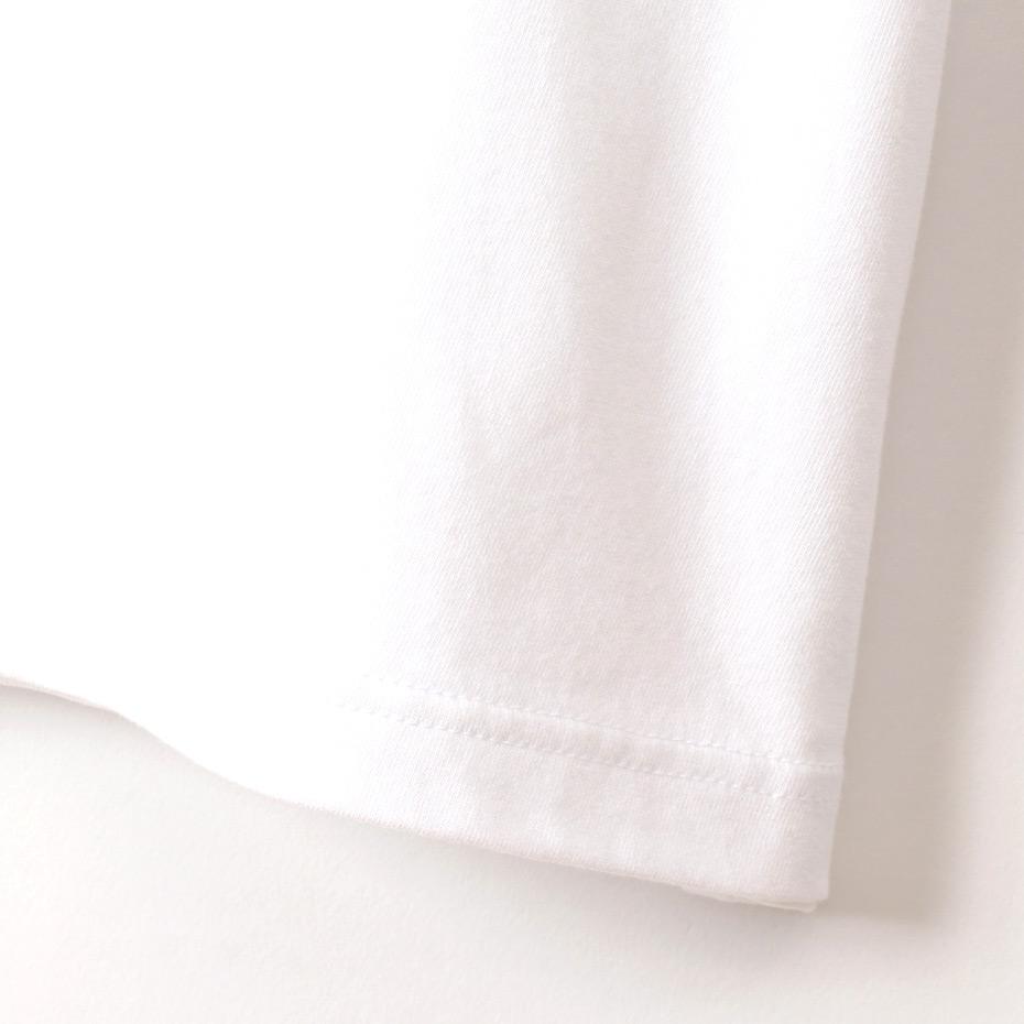 ウィメンズ クロップド ポケットTシャツ  Hanes THE TEE BAR ヘインズ(HW1-R204)