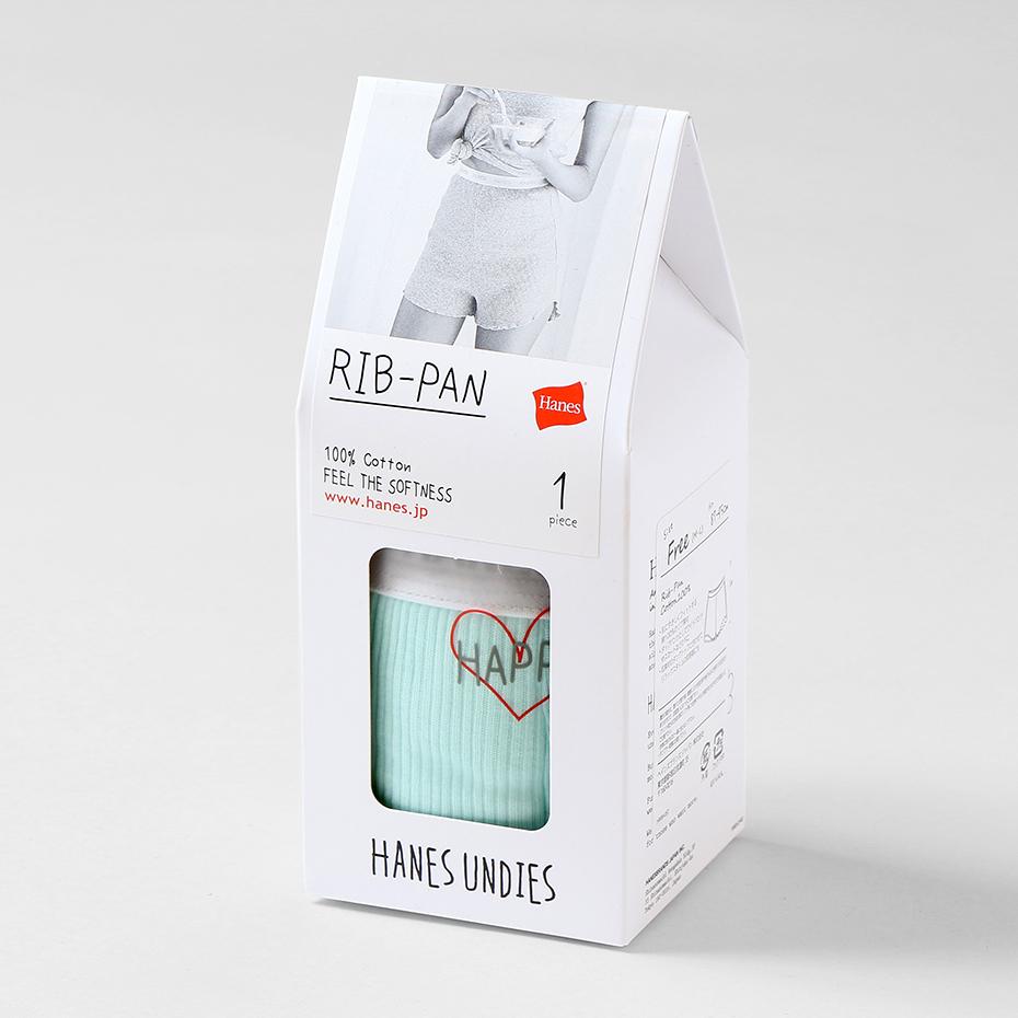 ウィメンズ Rib-Pan 19SS【春夏新作】Hanes Undies ヘインズ(HW6-P201)