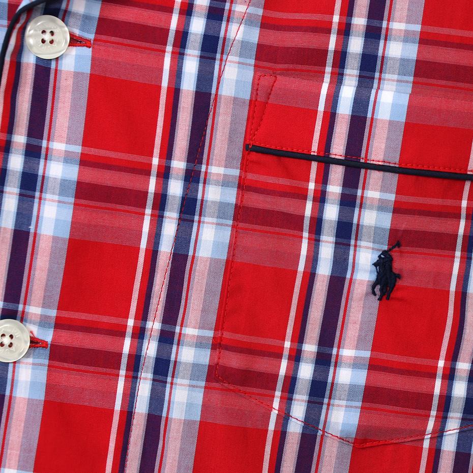 Concord Plaid パジャマ 20SS ポロ ラルフ ローレン(RM6-R301)