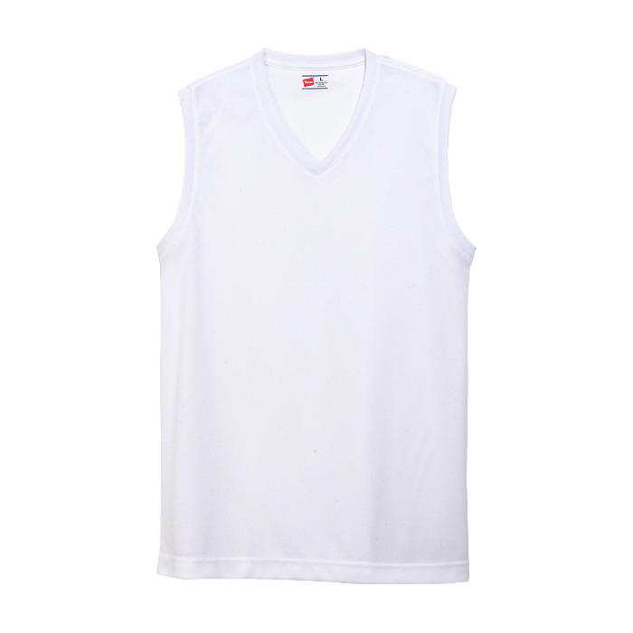 【2枚組】部活魂 ノースリーブVネックシャツ 20SS 魂シリーズ ヘインズ(HM3-G704)