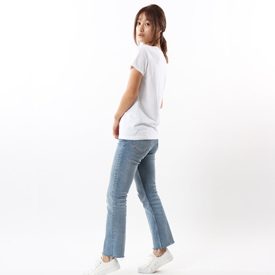 ウィメンズ ジャパンフィット【2枚組】クルーネックTシャツ 5.3oz 20FW Japan Fit for HER ヘインズ(HW5310)