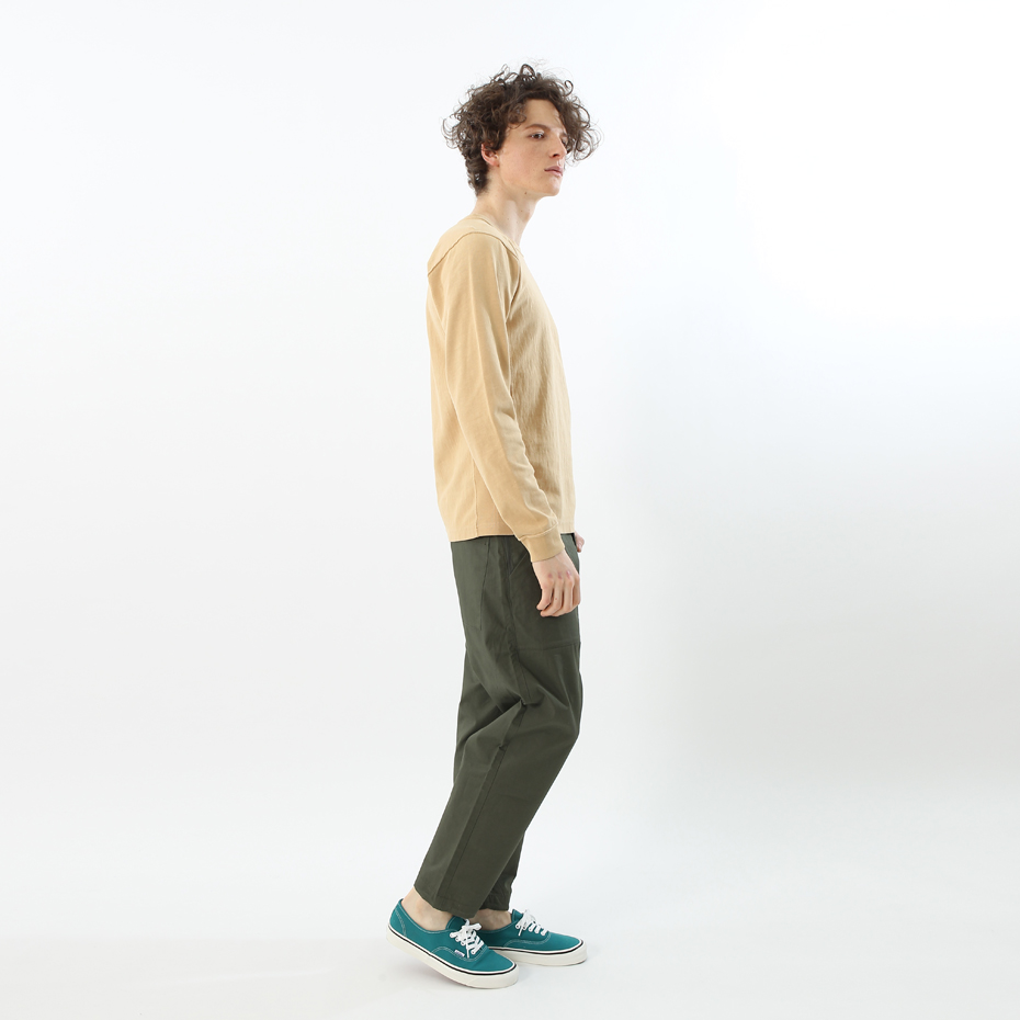 model:180cm 着用サイズ:L