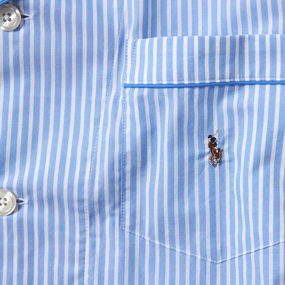 Albert Stripe パジャマ 20SS ポロ ラルフ ローレン(RM6-R302)