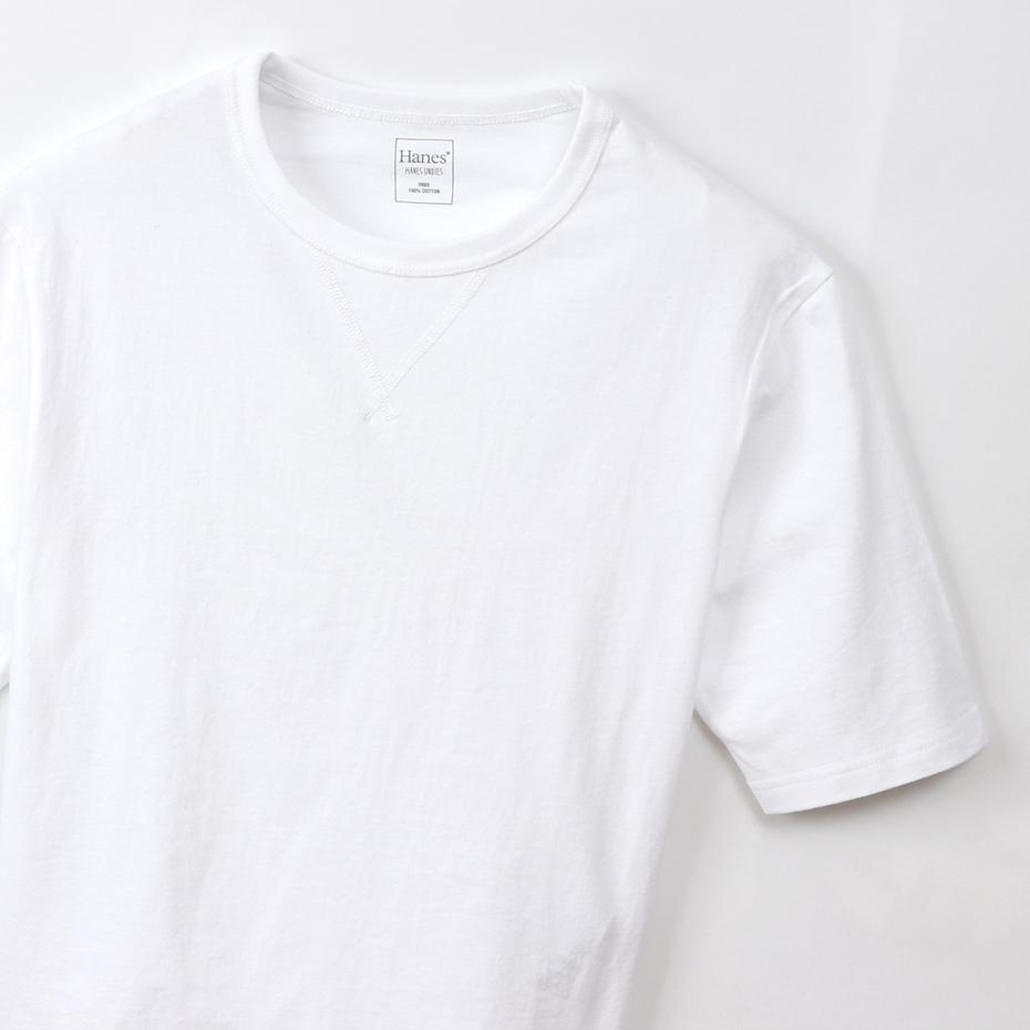 ウィメンズ Elbow-length 【5分丈】 Tシャツ 19SS Hanes Undies ヘインズ(HW4-P201)
