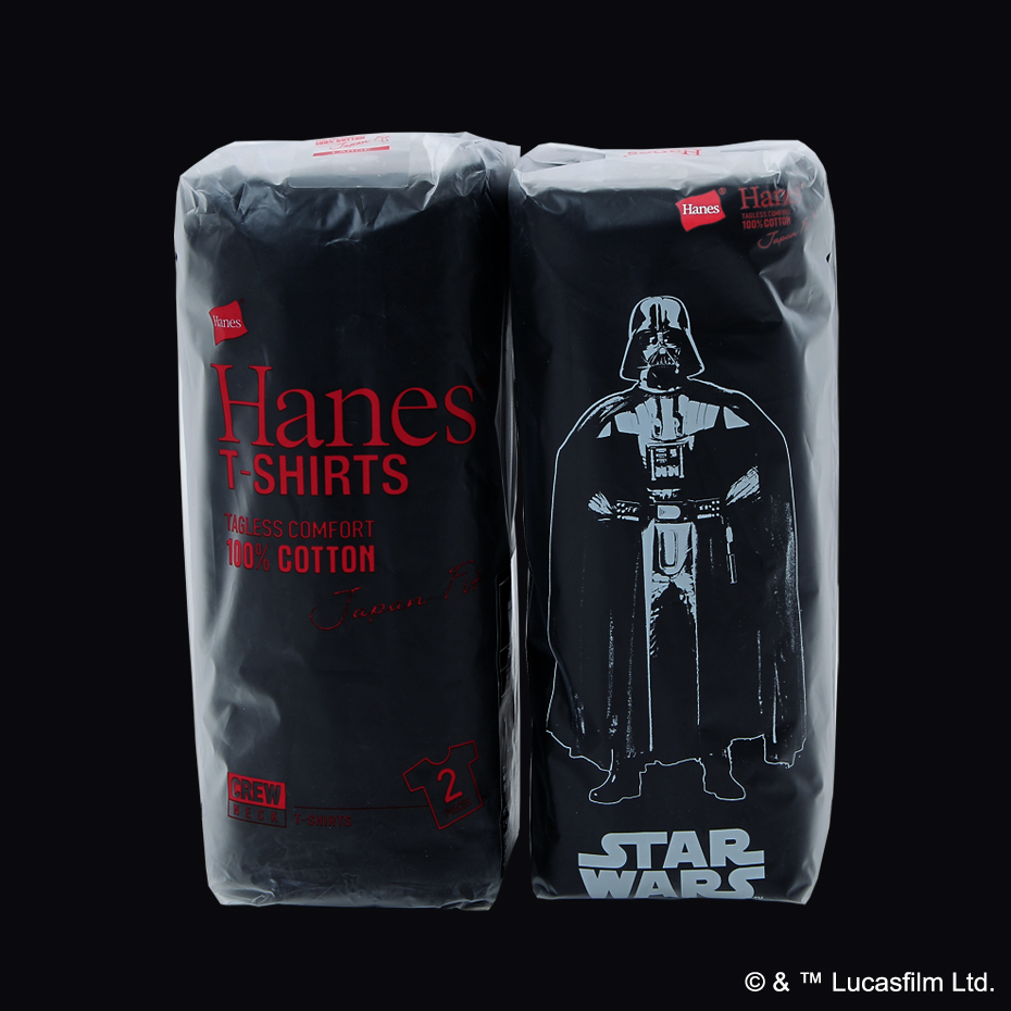 """Hanes Japan Fit """"STAR WARS"""" Special Limited Pack"""