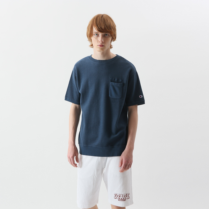 ショートスリーブスウェットシャツ 18SS 【春夏新作】キャンパス チャンピオン(C3-M012)