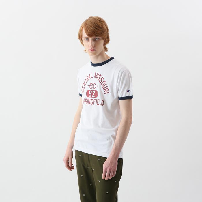 リンガーTシャツ 18SS 【春夏新作】キャンパス チャンピオン(C3-M333)