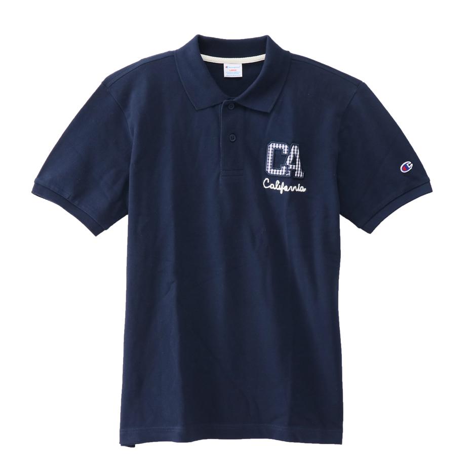 大きいサイズ ポロシャツ 18SS キャンパス チャンピオン(C3-M336L)