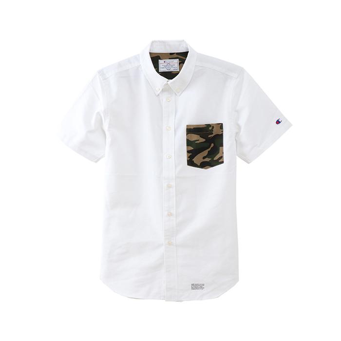 ショートスリーブボタンダウンシャツ 18SS 【春夏新作】キャンパス チャンピオン(C3-M342)