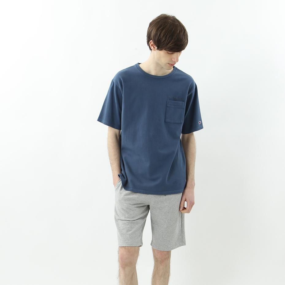 ポケットTシャツ 18SS キャンパス チャンピオン(C3-M344)