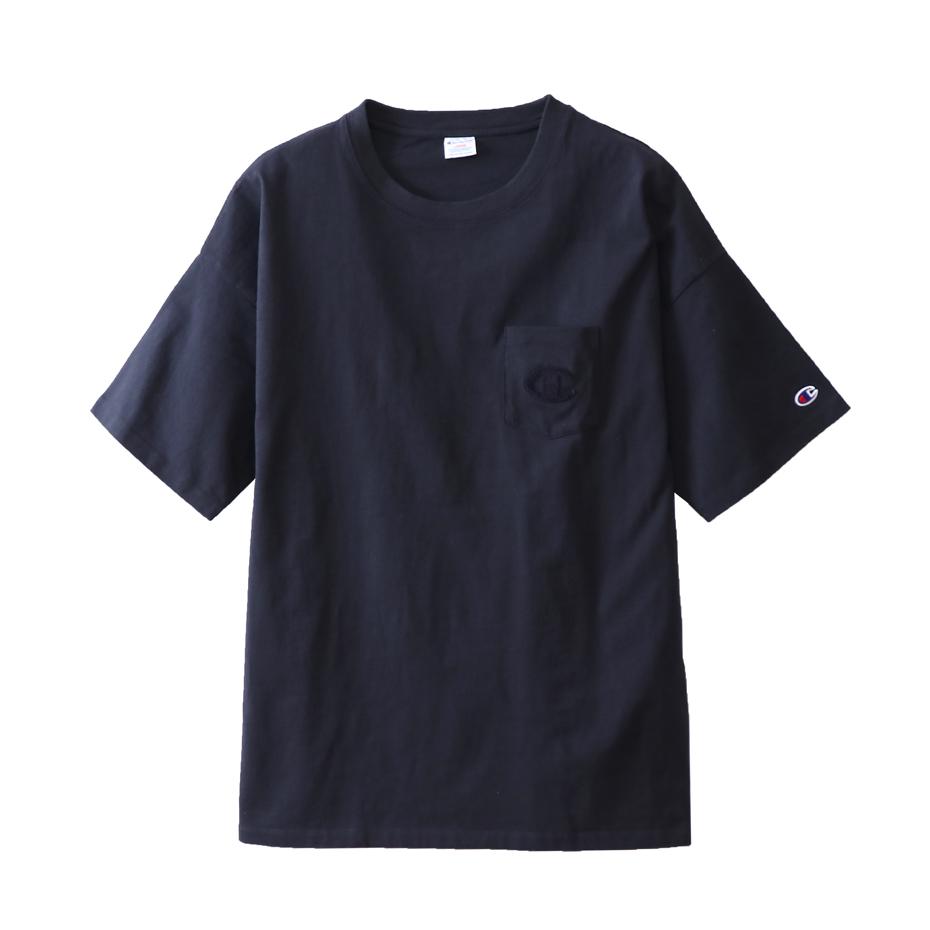 ユニセックス ポケットTシャツ 18SS キャンパス チャンピオン(C3-M347)