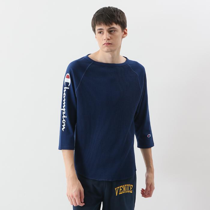 ユニセックス ラグランスリーブロングTシャツ 18SS キャンパス チャンピオン(C3-M410)