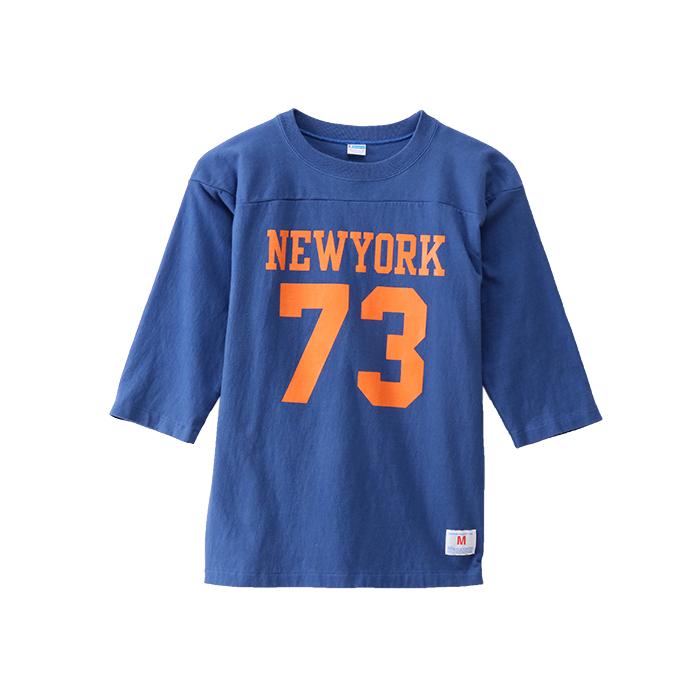 3/4スリーブ【7分袖】フットボールTシャツ 18SS 70'S ヴィンテージ チャンピオン(C3-M416)
