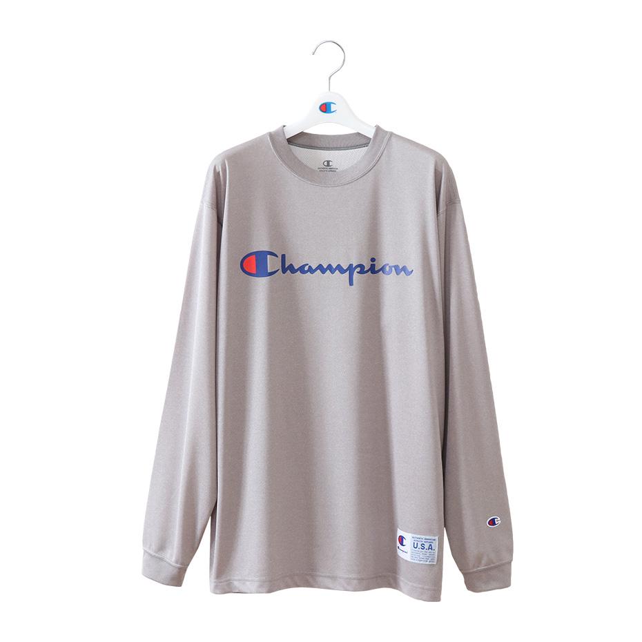 DRYSAVER ロングスリーブTシャツ 18FW 【秋冬新作】CAGERS チャンピオン(C3-NB450)