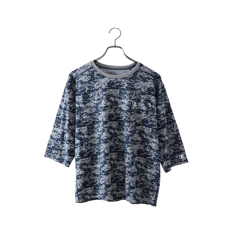 87C JERSEY 3/4スリーブ【7分袖】Tシャツ 18FW 【秋冬新作】CPFU チャンピオン(C3-NS410)