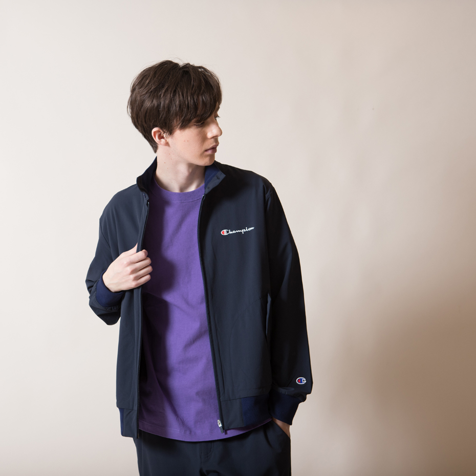 フルジップジャケット 18FW 【秋冬新作】アクションスタイル チャンピオン(C3-NS632)