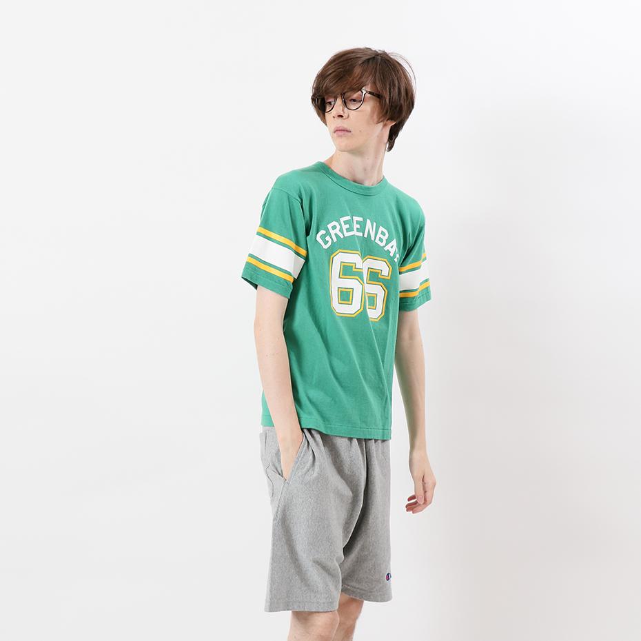 フットボールTシャツ 19SS 70'S ヴィンテージ チャンピオン(C3-P355)