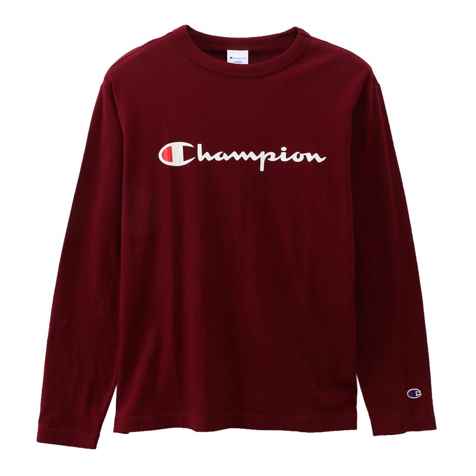 ロングスリーブTシャツ 19FW【秋冬新作】ベーシック チャンピオン(C3-Q401)