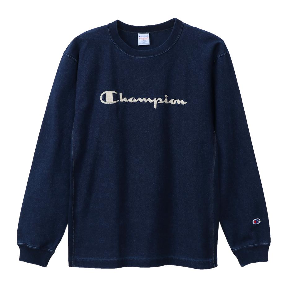 リバースウィーブロングスリーブTシャツ 19FW【秋冬新作】リバースウィーブ チャンピオン(C3-Q416)