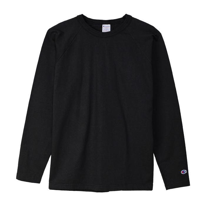 T1011(ティーテンイレブン) ラグランロングスリーブTシャツ 18FW MADE IN USA チャンピオン(C5-Y401)