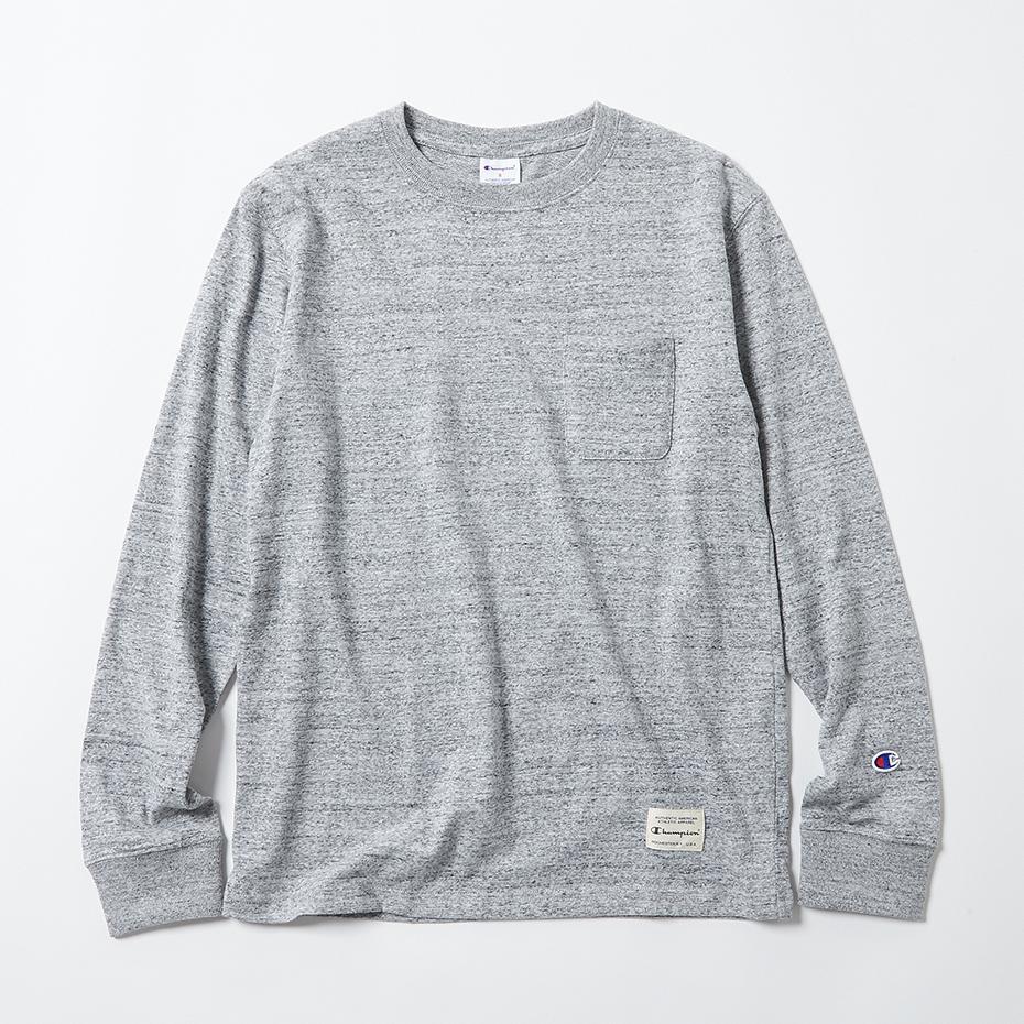 IVY ロングスリーブポケットTシャツ 19SS スタンダード チャンピオン(C8-H403)