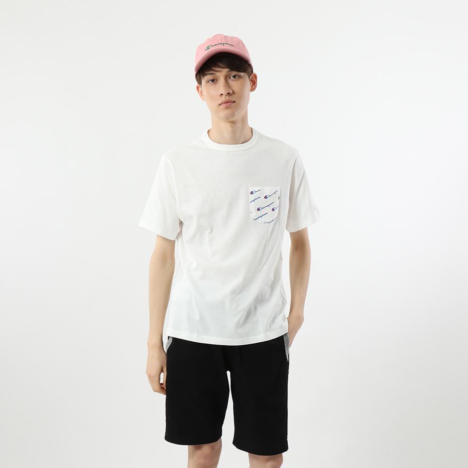 ロゴポケットTシャツ 18SS 【春夏新作】スタンダード チャンピオン(C8-K30T)