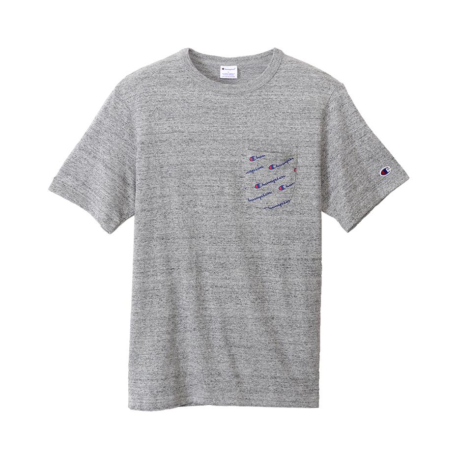 ロゴポケットTシャツ 18SS スタンダード チャンピオン(C8-K30T)