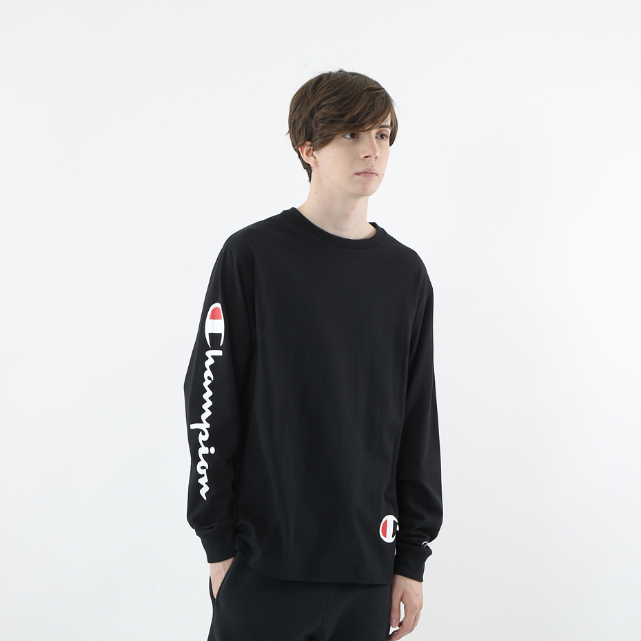 ロングスリーブTシャツ 18FW 【秋冬新作】スタンダード チャンピオン(C8-N401)