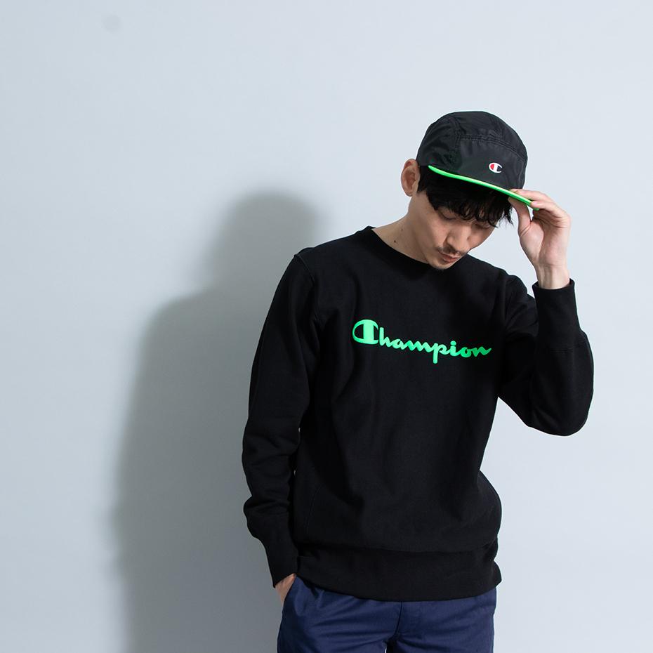 リバースウィーブクルーネックスウェットシャツ 19SS【春夏新作】スタンダード チャンピオン(C8-P003)
