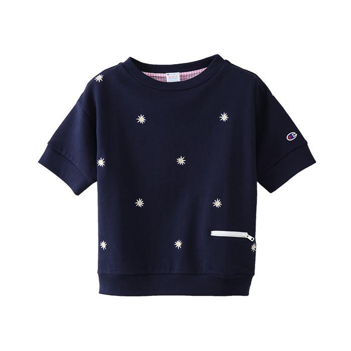 ウィメンズ ショートスリーブスウェットシャツ 18SS チャンピオン(CW-M012)