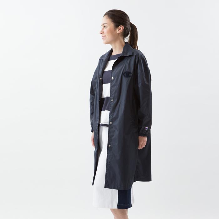 ウィメンズ ロングコーチジャケット 18SS 【春夏新作】チャンピオン(CW-M603)