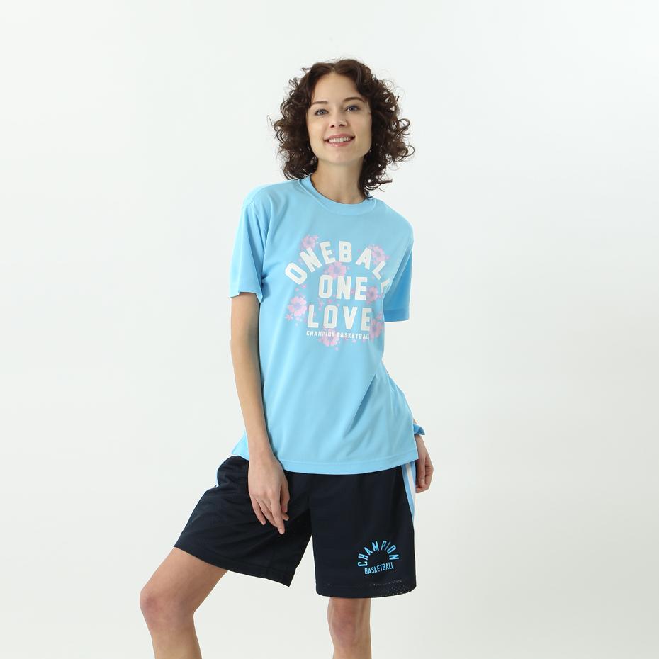 ウィメンズ プラクティスTシャツ 18SS 【春夏新作】E-MOTION チャンピオン(CW-MB327)