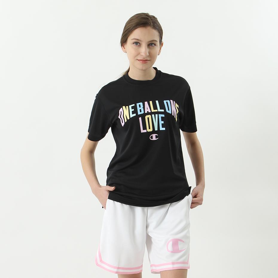 ウィメンズ プラクティスTシャツ 18SS BASKETBALL チャンピオン(CW-MB328)
