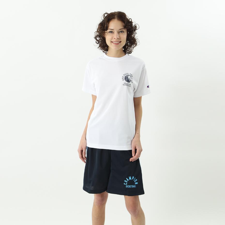 ウィメンズ プラクティスTシャツ 18SS 【春夏新作】E-MOTION チャンピオン(CW-MB329)