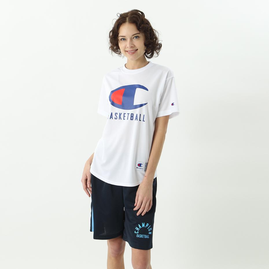 ウィメンズ DRYSAVER Tシャツ 18FW CAGERS チャンピオン(CW-MB356)