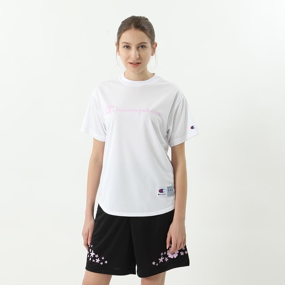 ウィメンズ DRYSAVER Tシャツ 18FW CAGERS チャンピオン(CW-MB357)